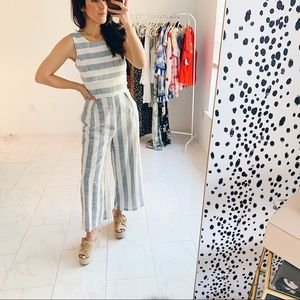 SugarLips Stripe jumpsuit XS